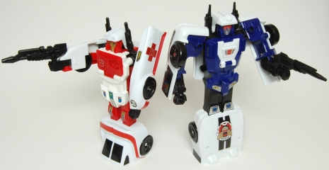 Minerva and Goshooter Robots