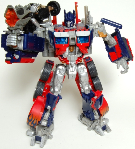 Backfire Optimus Weapon