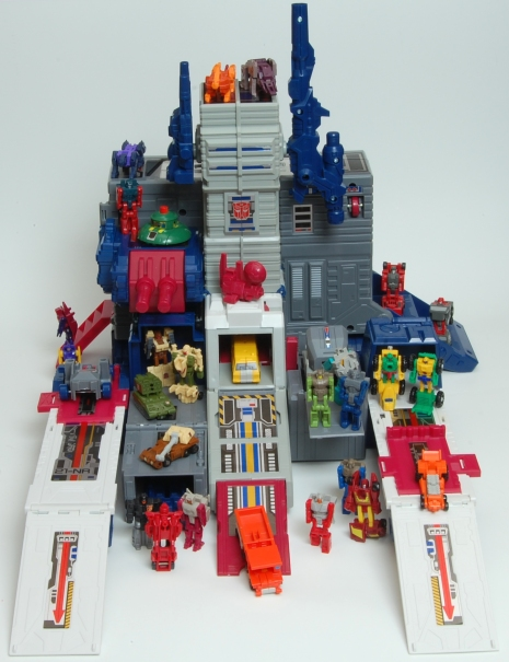 Fortress Maximus City Inhabited