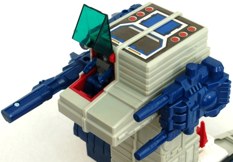Fortress Maximus Cockpit