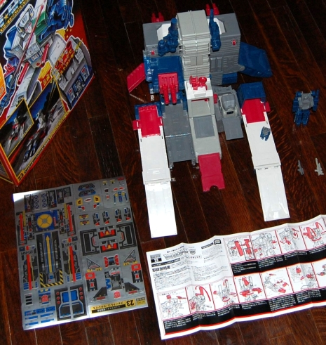 Fortress Maximus Stickers