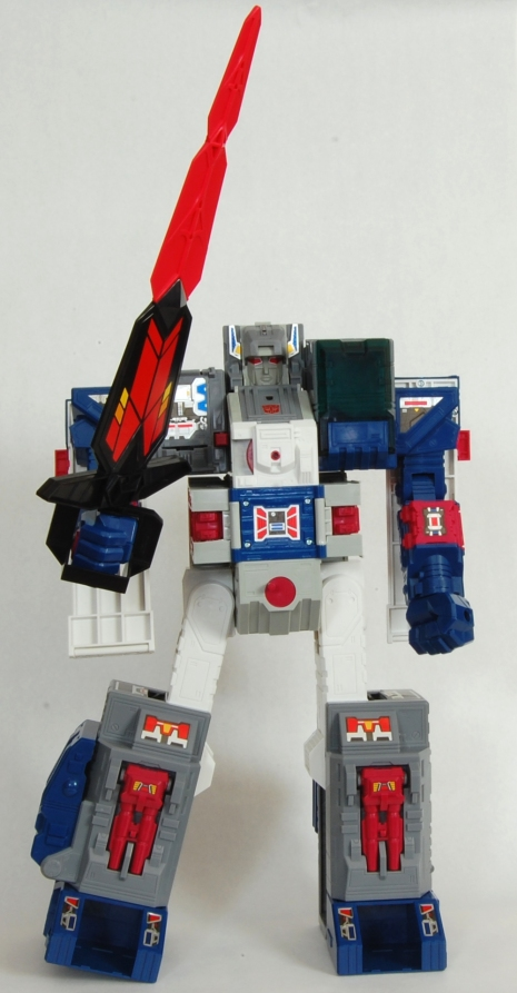 Fortress Maximus Sword Pose