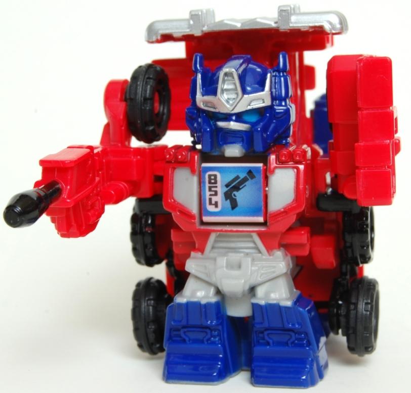 Optimus Cybertron Bot Shots Robot