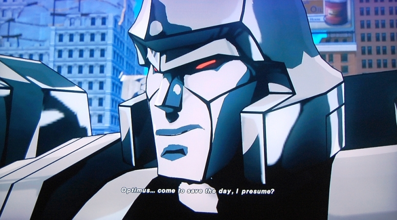 Transformers Devastation Megatron Sarcasm